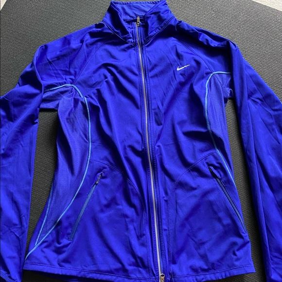 Nike running jacket. Royal blue. M